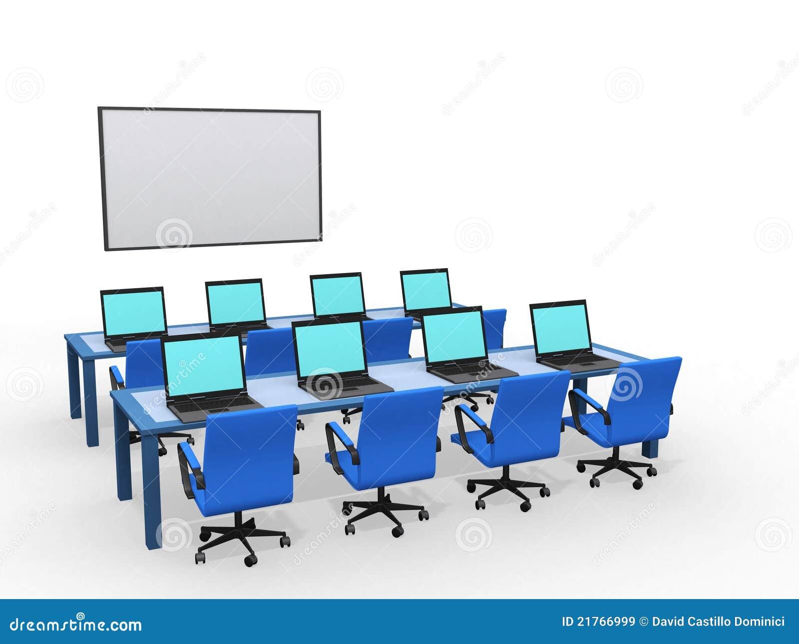 Modern Classroom Model : Stock images by david castillo dominici photos