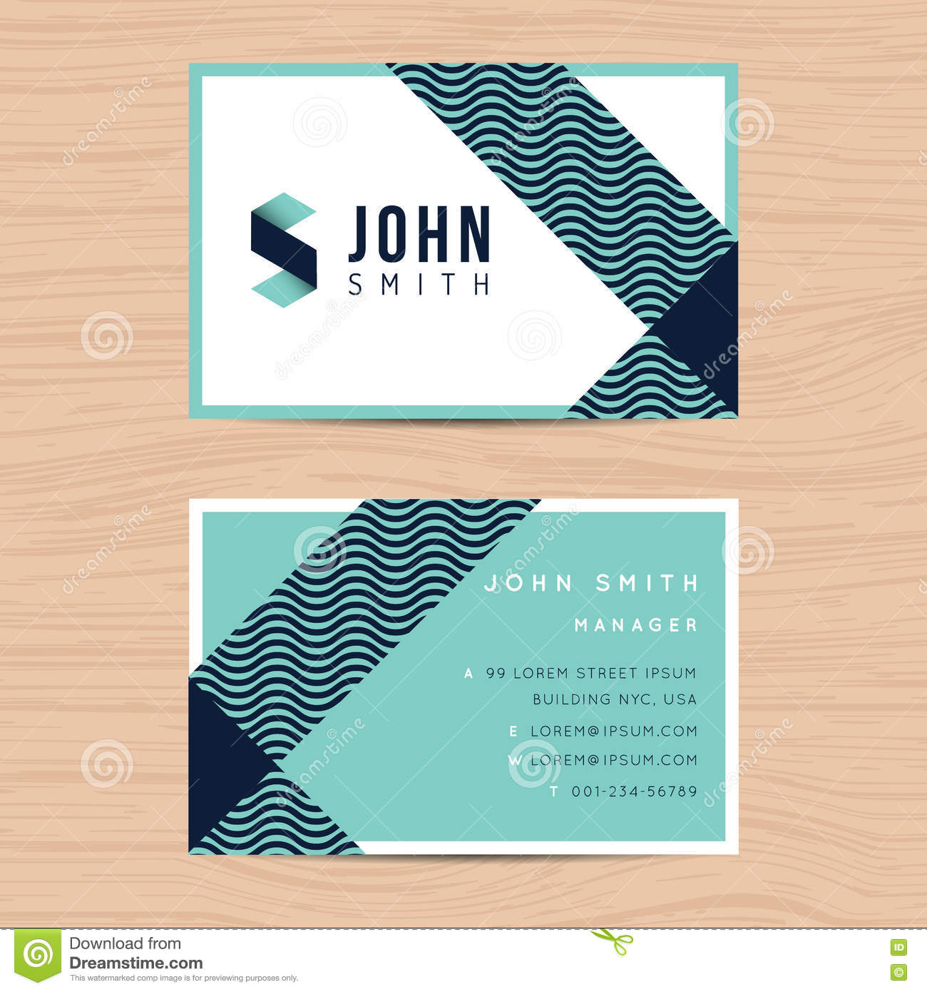 Modern and clean design business card template in abstract download modern and clean design business card template in abstract background printing design template cheaphphosting Image collections