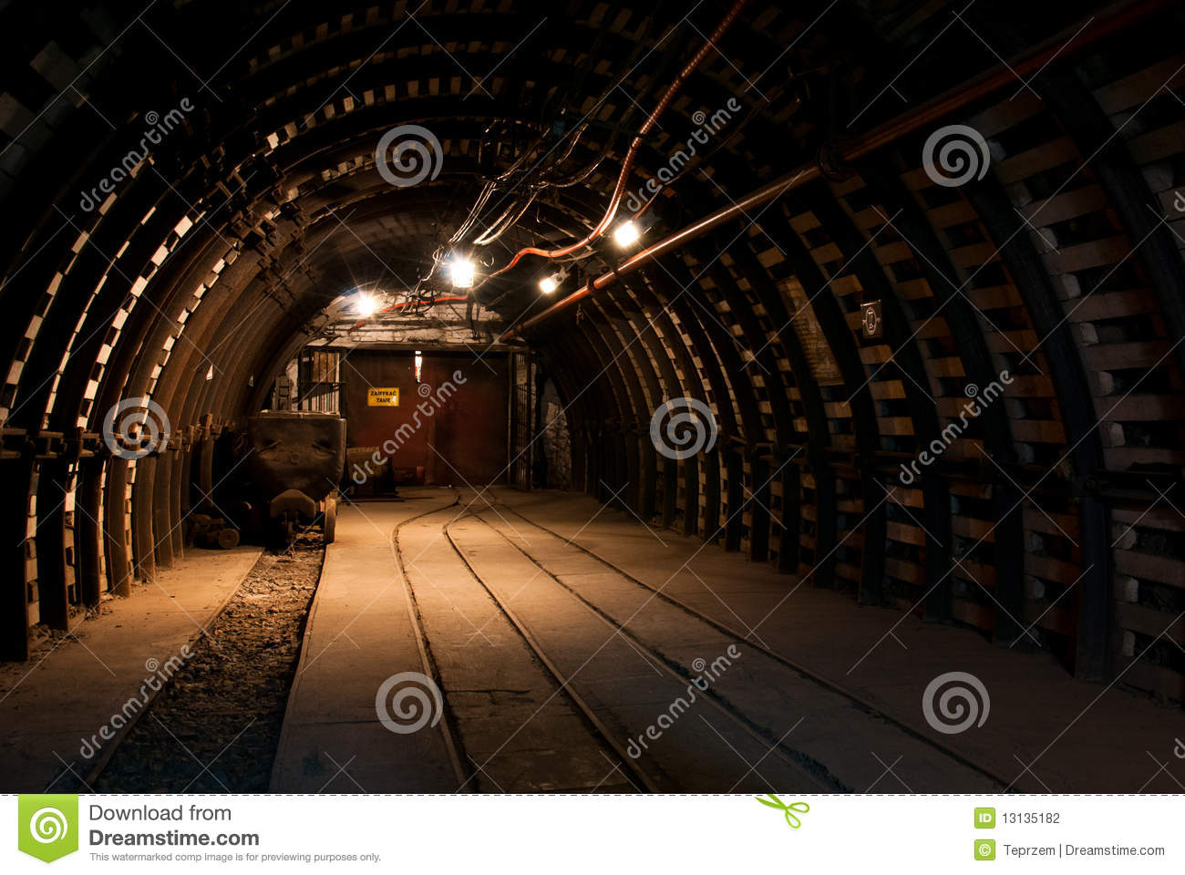 Modern coal mine stock photo. Image of dirt, industrial ...