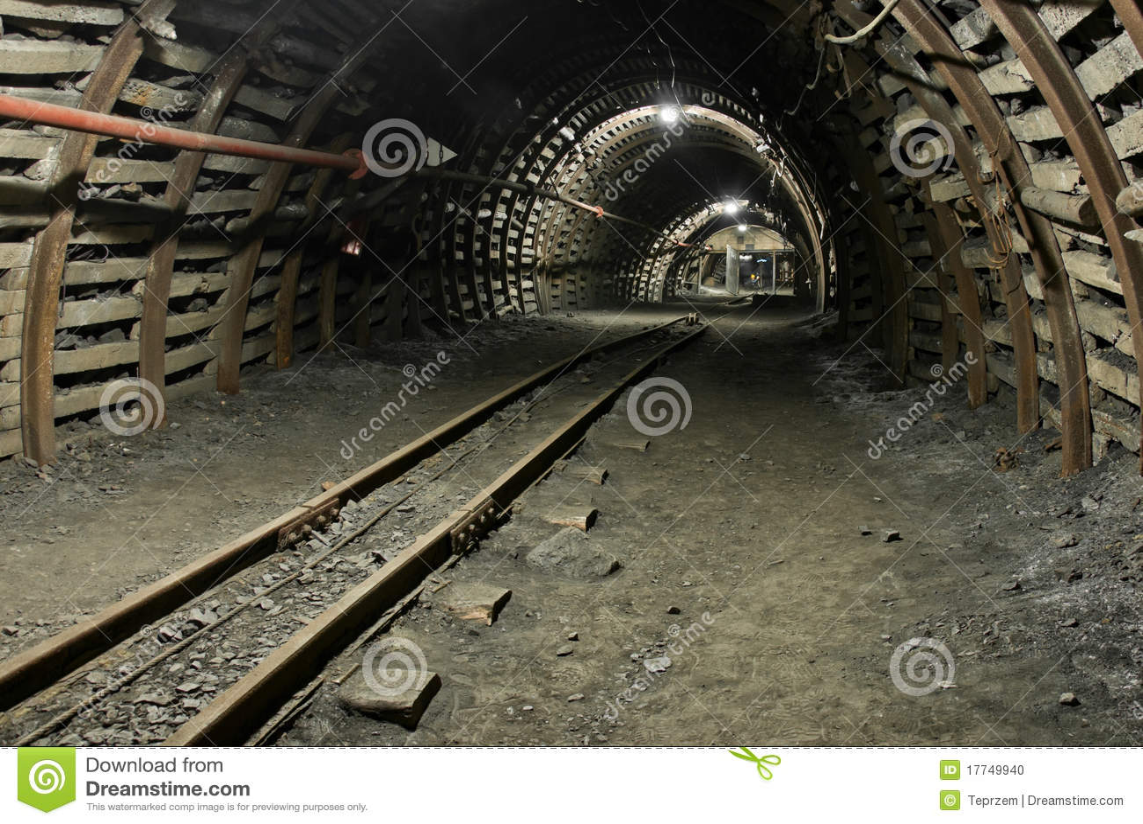 Modern Coal Mine Stock Photo - Image: 17749940
