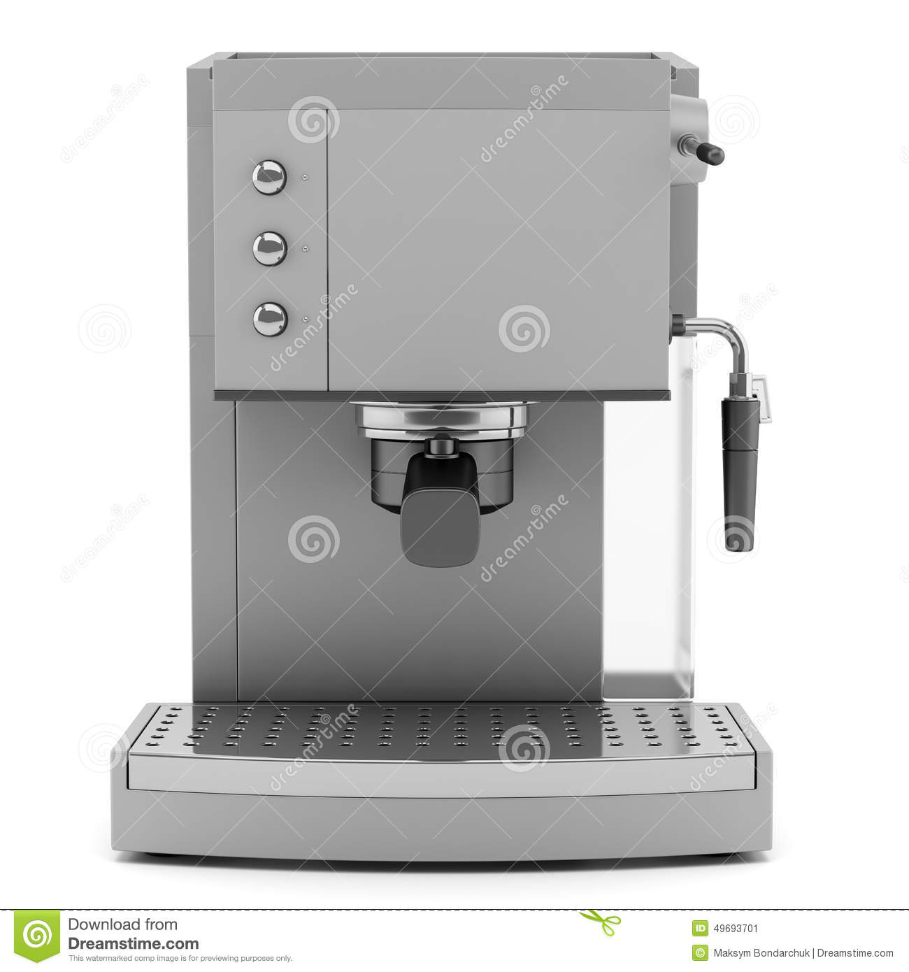 modern coffee machine isolated on white stock illustration  image  - background coffee isolated machine modern