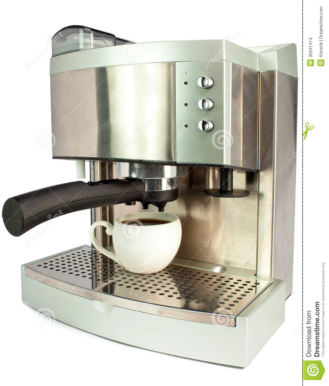 modern coffee machine on a white background stock images  image  - background coffee machine
