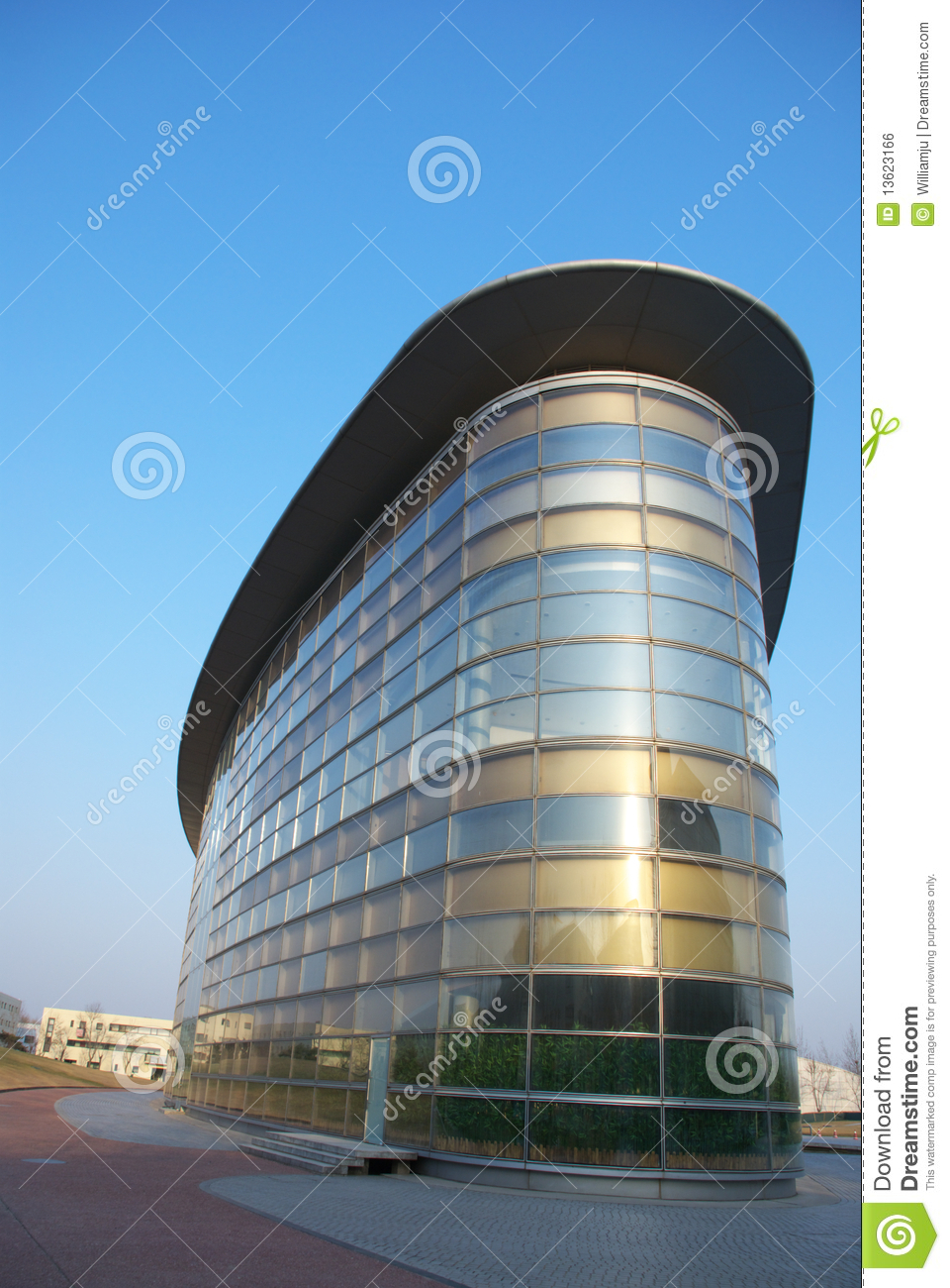 Modern College Building Royalty Free Stock Image - Image ...