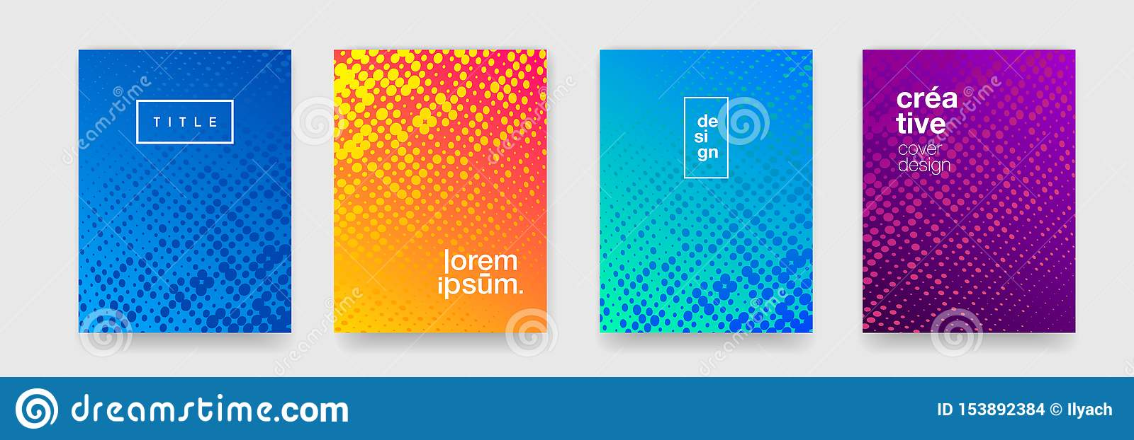Modern Color Gradient Background Patterns Abstract