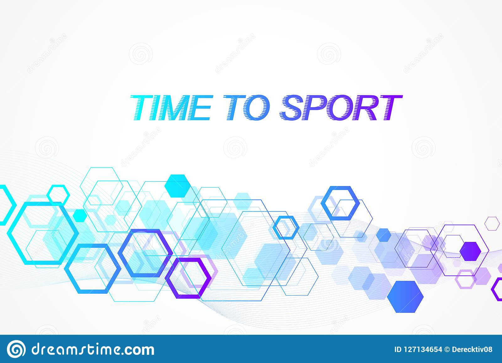 Modern colored sport background. Abstract design with lines, flow wave, hexagon, hex for your design. Sport concept