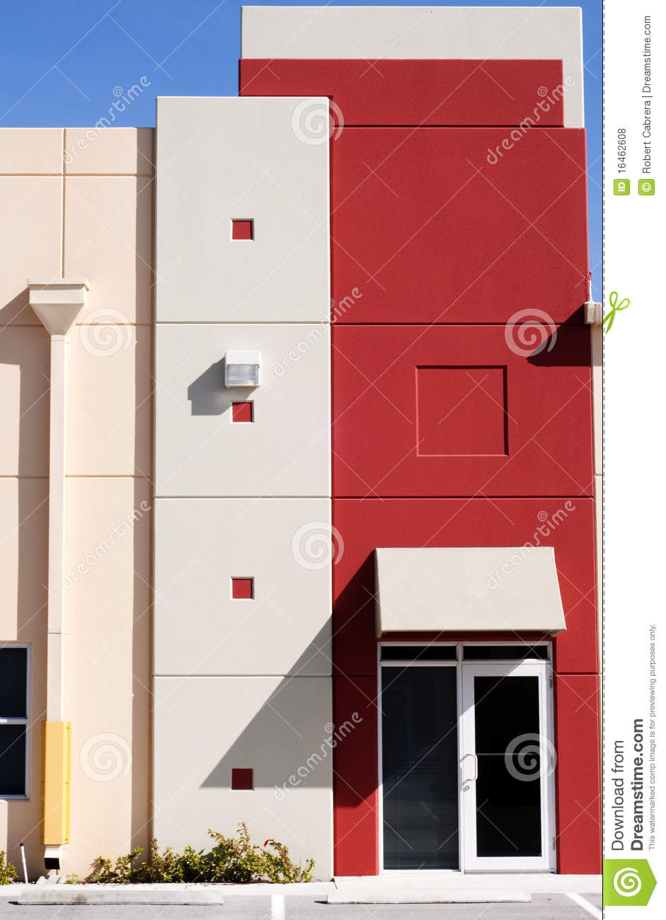 Modern Colorful Building exterior