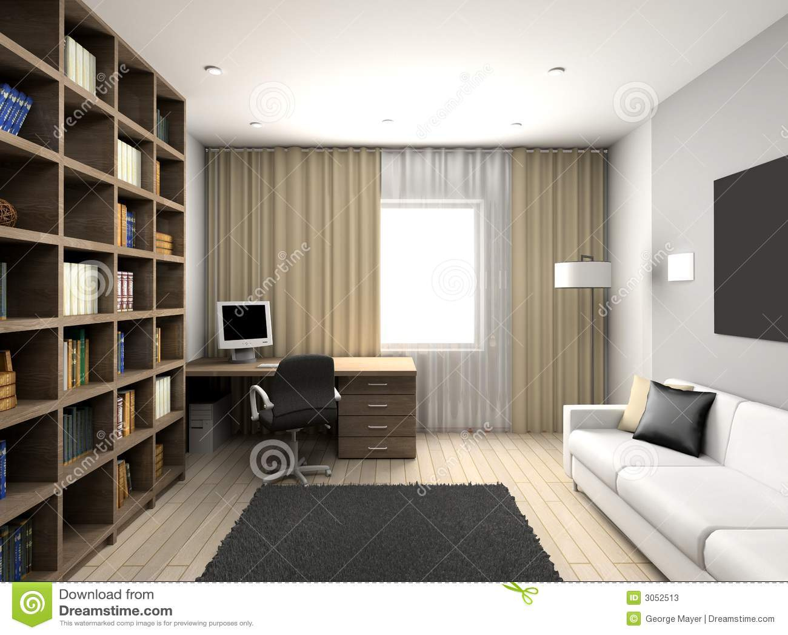 Modern comfortabel binnenland