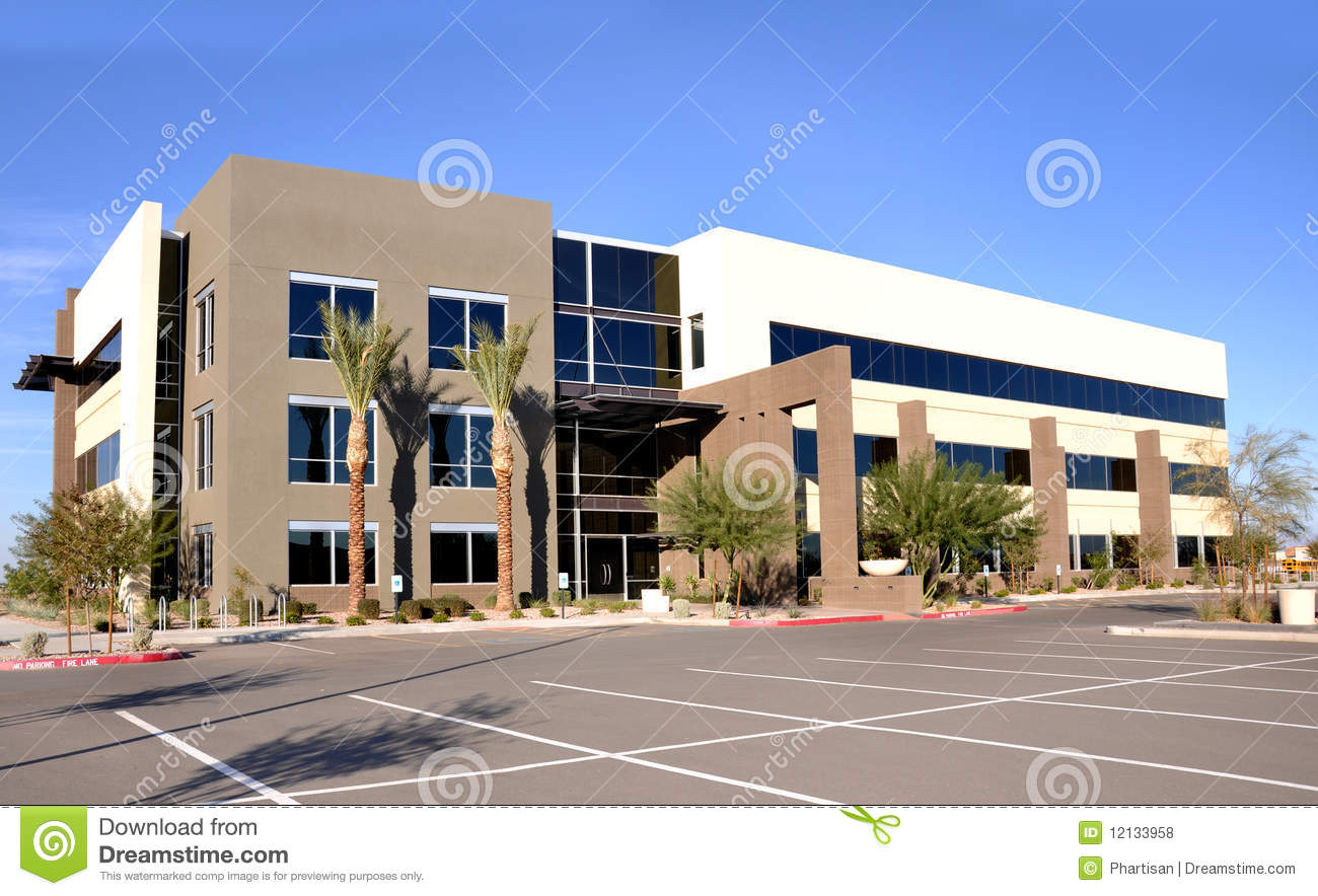 Modern commercial building royalty free stock photos for Modern commercial building