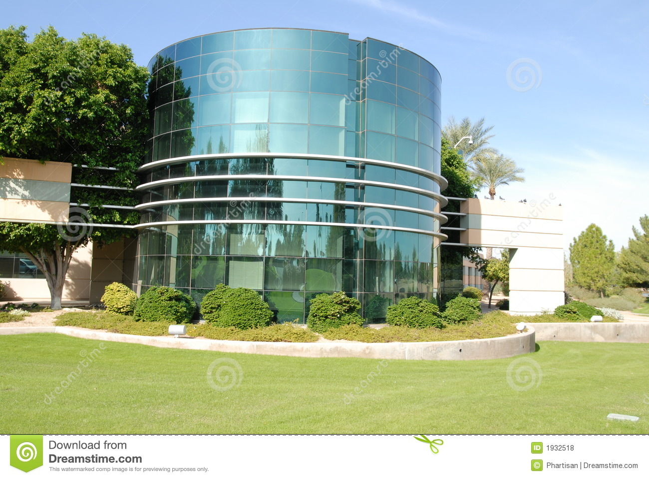 Modern commercial building stock photo image of industry for Contemporary commercial buildings
