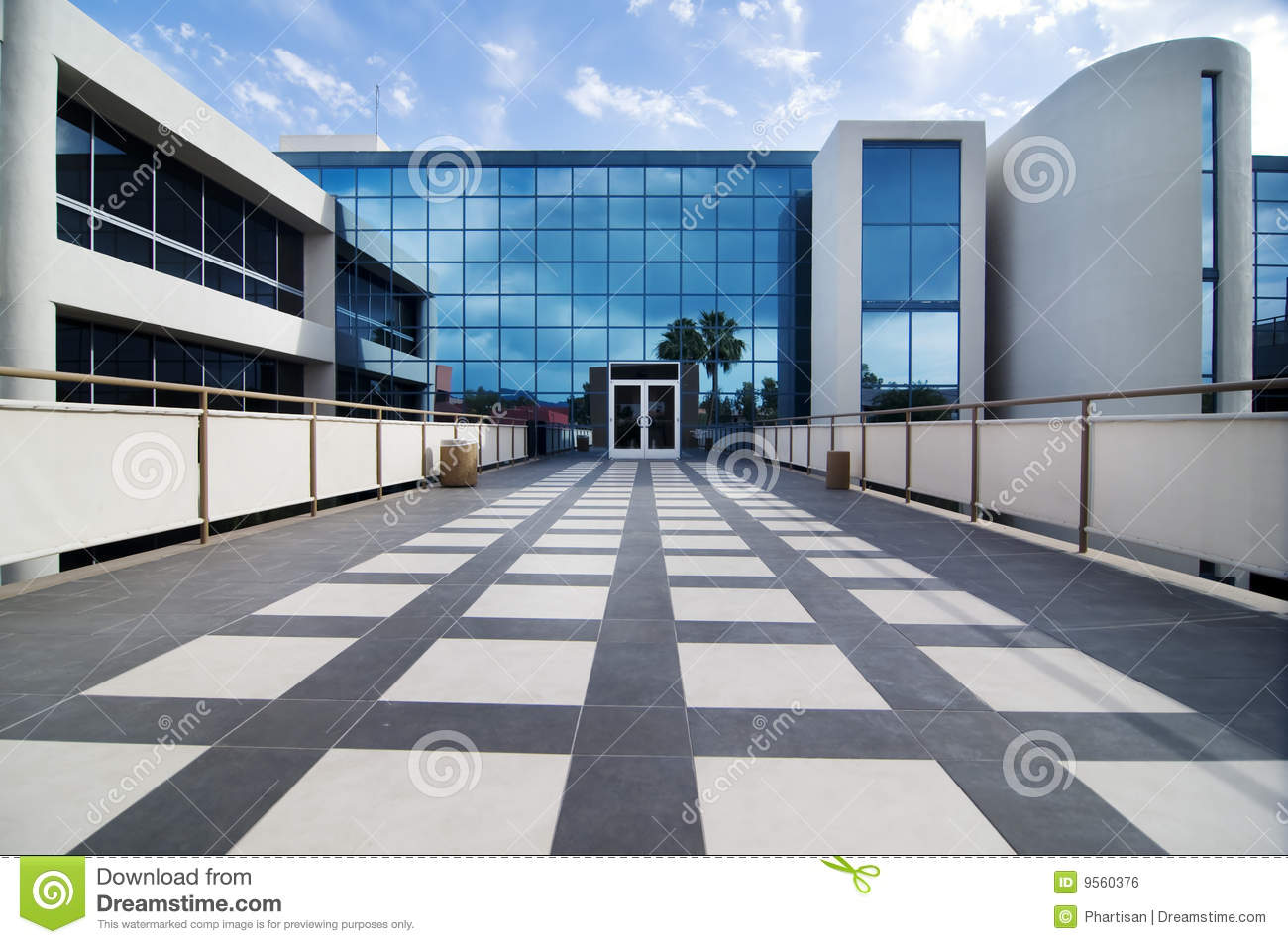 Modern commercial building facility royalty free stock for Modern commercial building