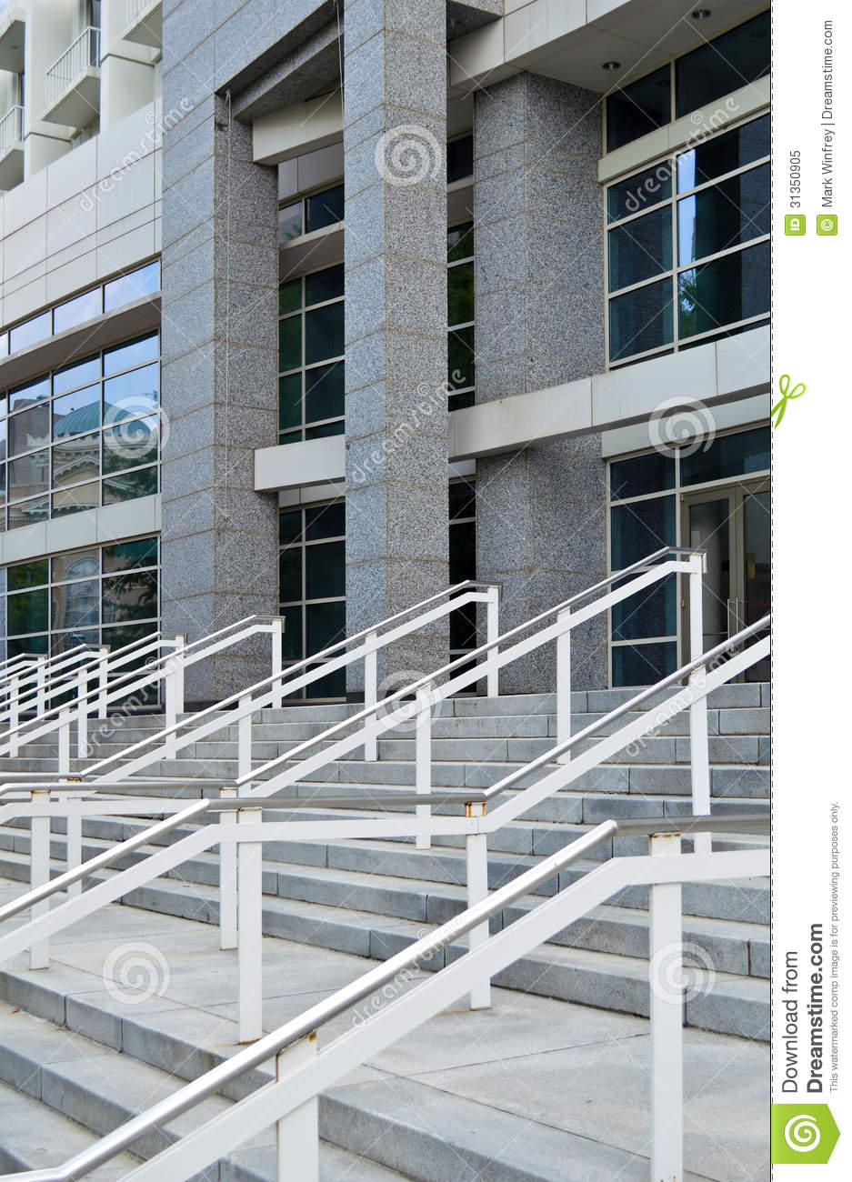 Modern commercial building stock image image of broker Building facade pictures