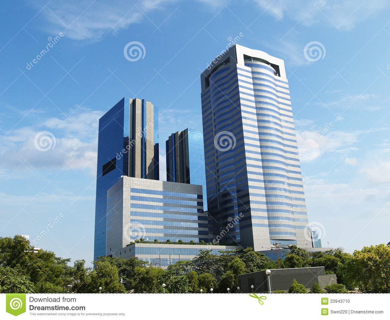 Modern commercial buildings stock photo image 23943710 for Modern business buildings