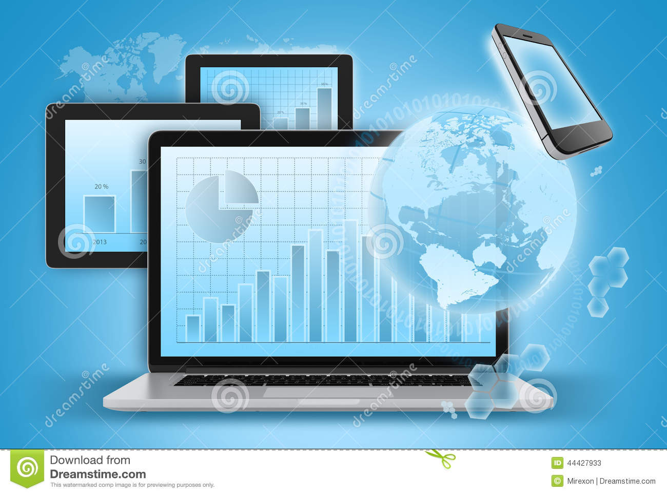modern communication devices for business success stock laptop diagram drawing laptop diagram image
