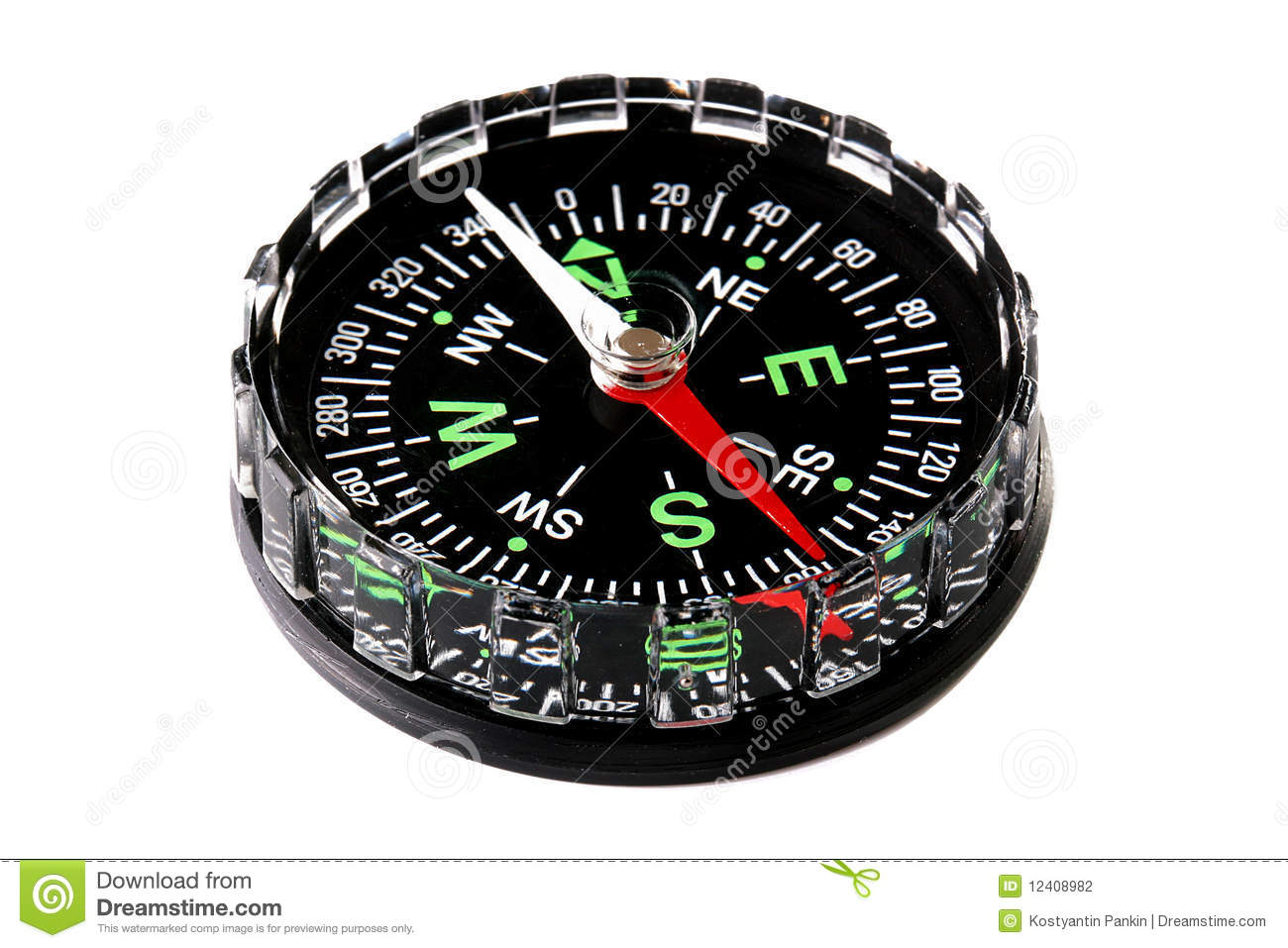 Modern Compass Stock Photography Image 12408982