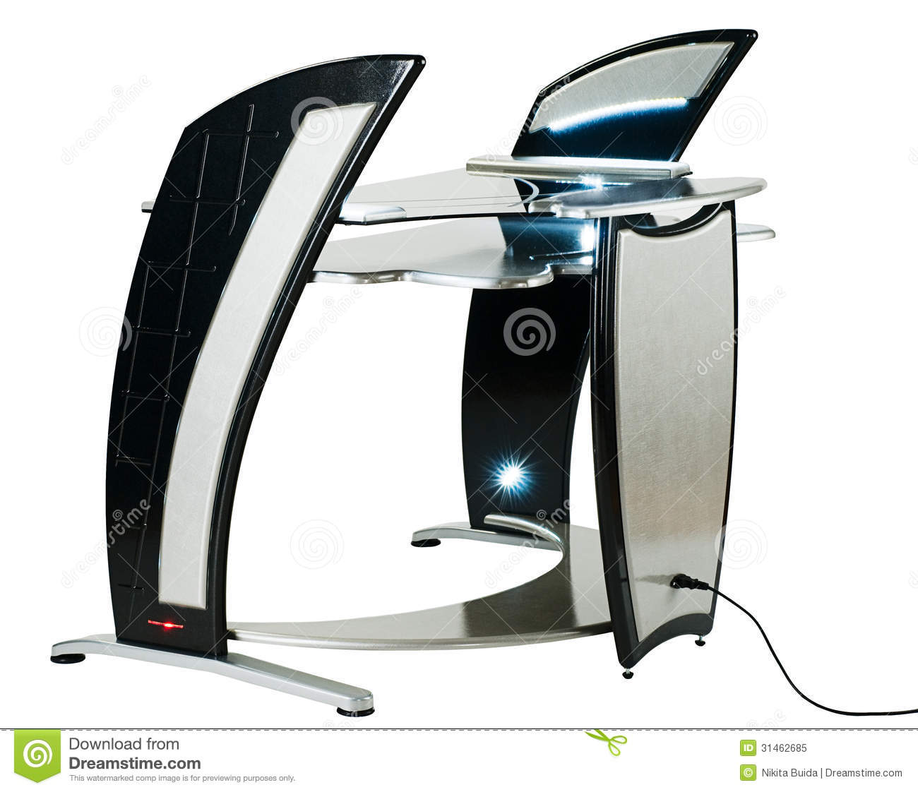 royaltyfree stock photo download modern computer desk