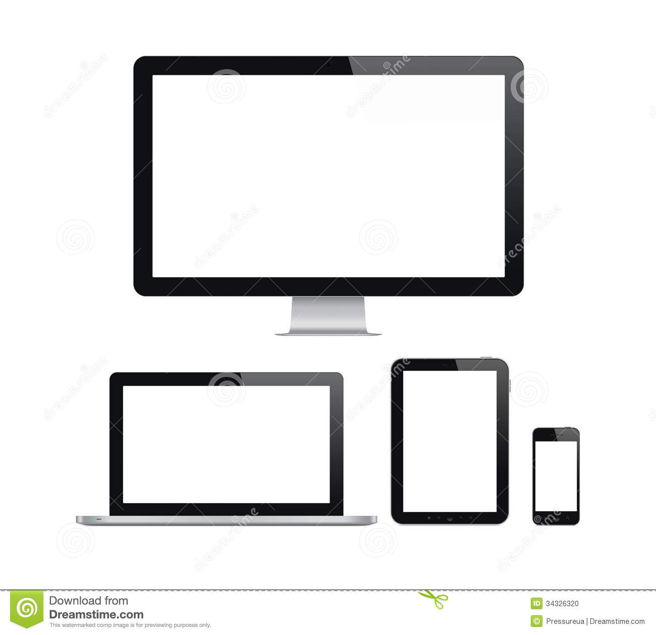 Blank Tablet Screen Png
