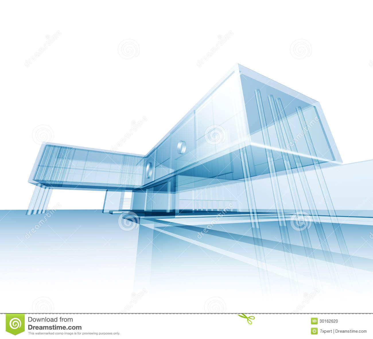 Modern concept building stock illustration image of style for Concept building