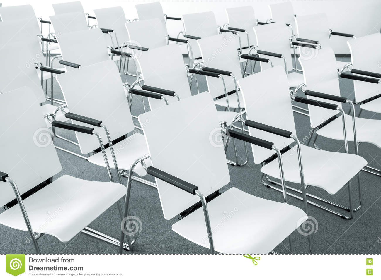 Royalty Free Stock Photo. Download Modern Conference Room Chairs ...
