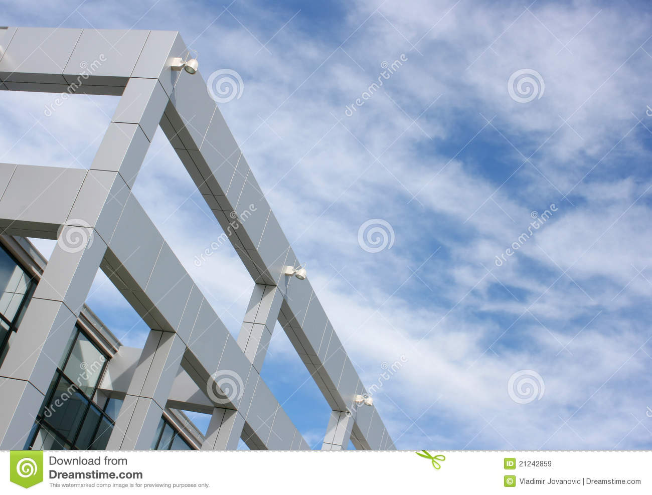 Modern construction building royalty free stock images for Modern building construction