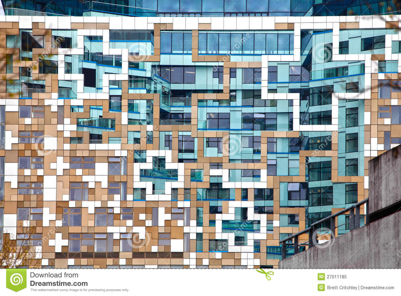 Download Modern Contemporary Architecture Facade Stock Image - Image of architectural, background: 27011185