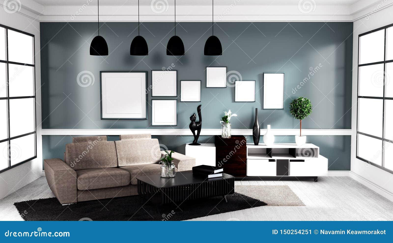 Modern Contemporary Interior Design modern contemporary style, living room interior design mock