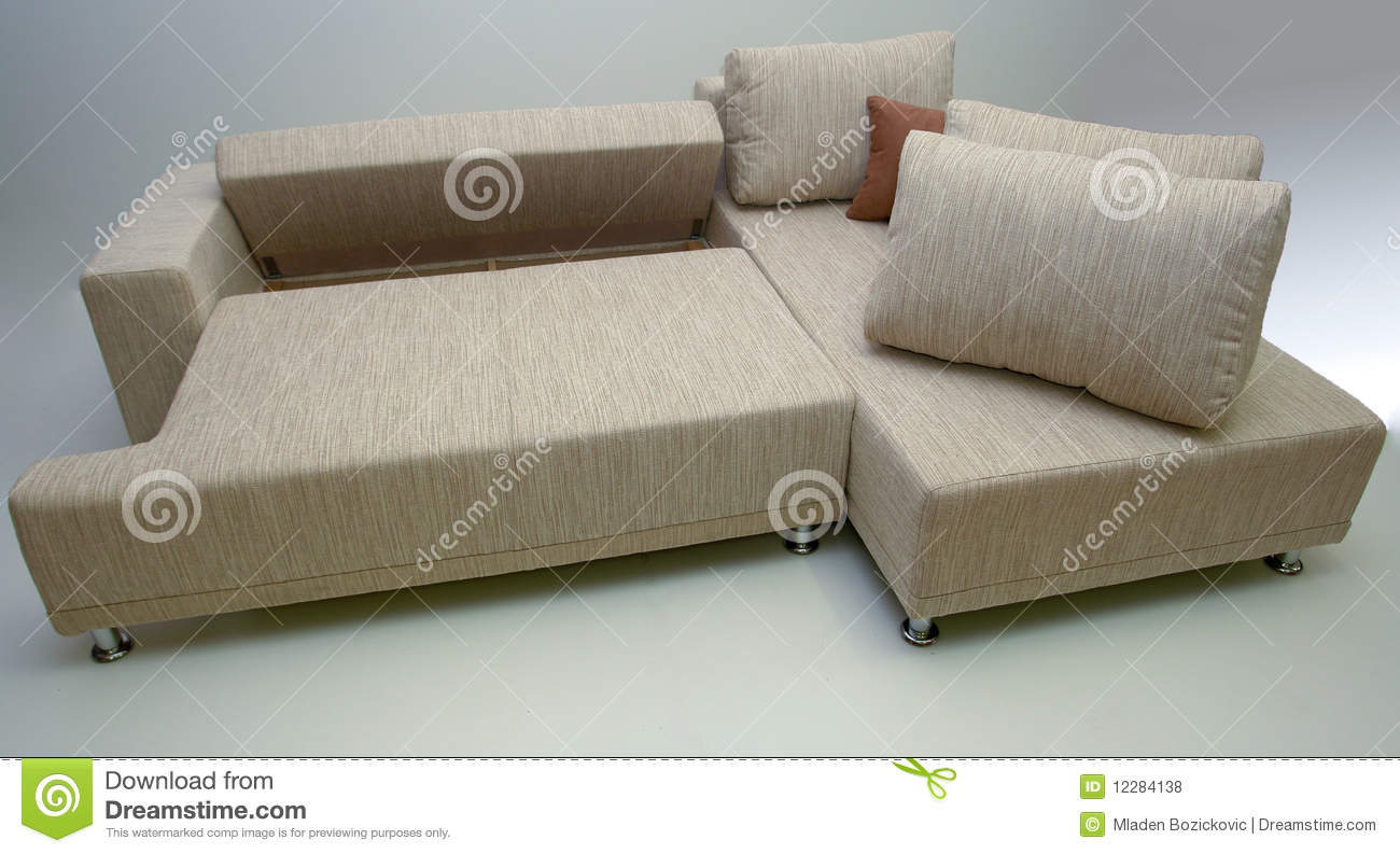 Modern Corner Sofa Stock Photo Image Of Indoor Commercial 12284138