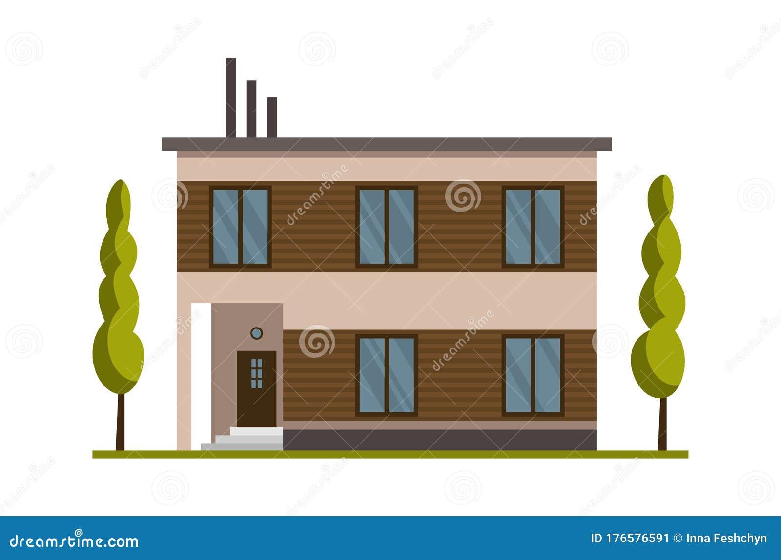 House Flat Roof Stock Illustrations 35 664 House Flat Roof Stock Illustrations Vectors Clipart Dreamstime