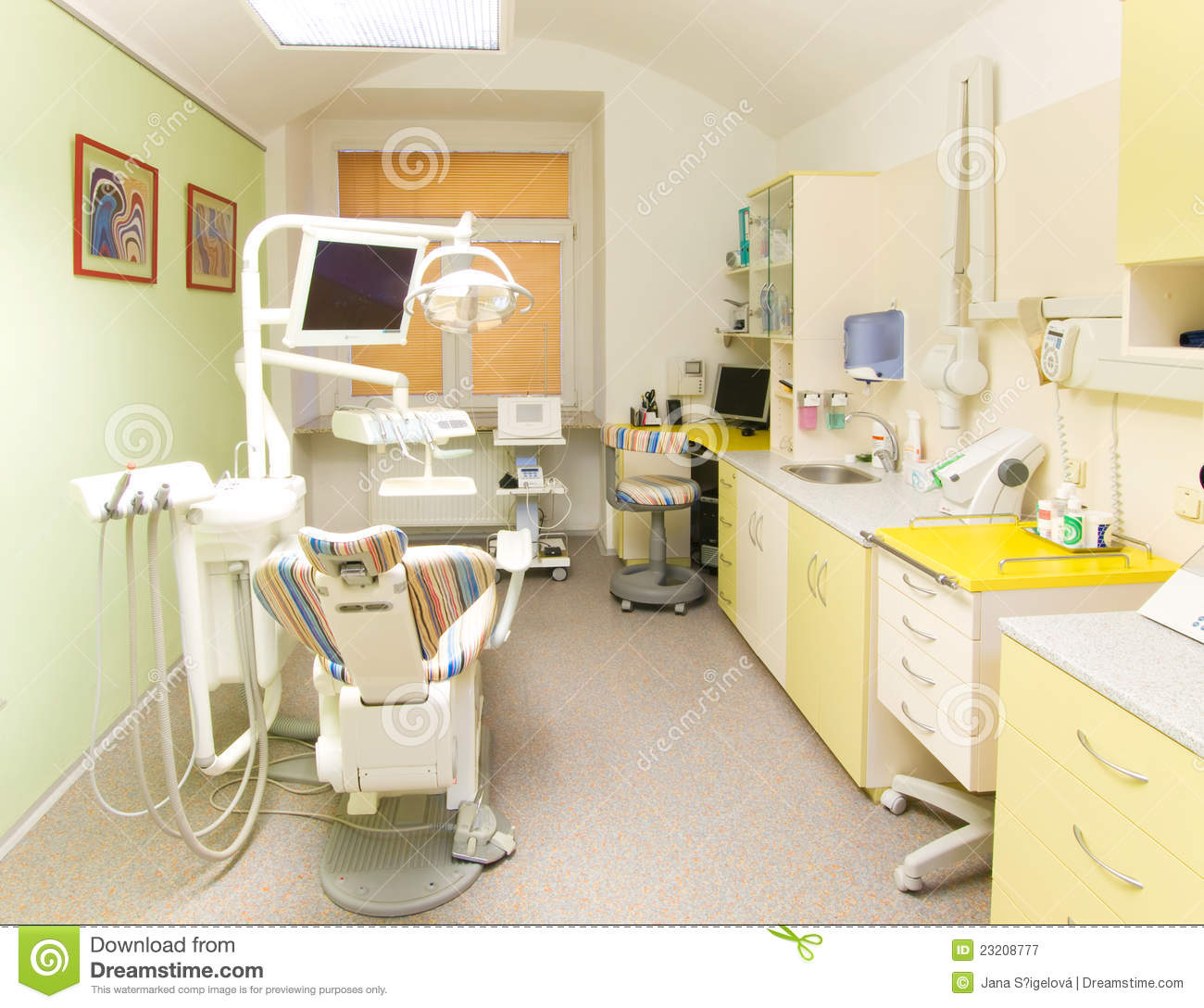 modern dental office royalty free stock photography - image: 23208777