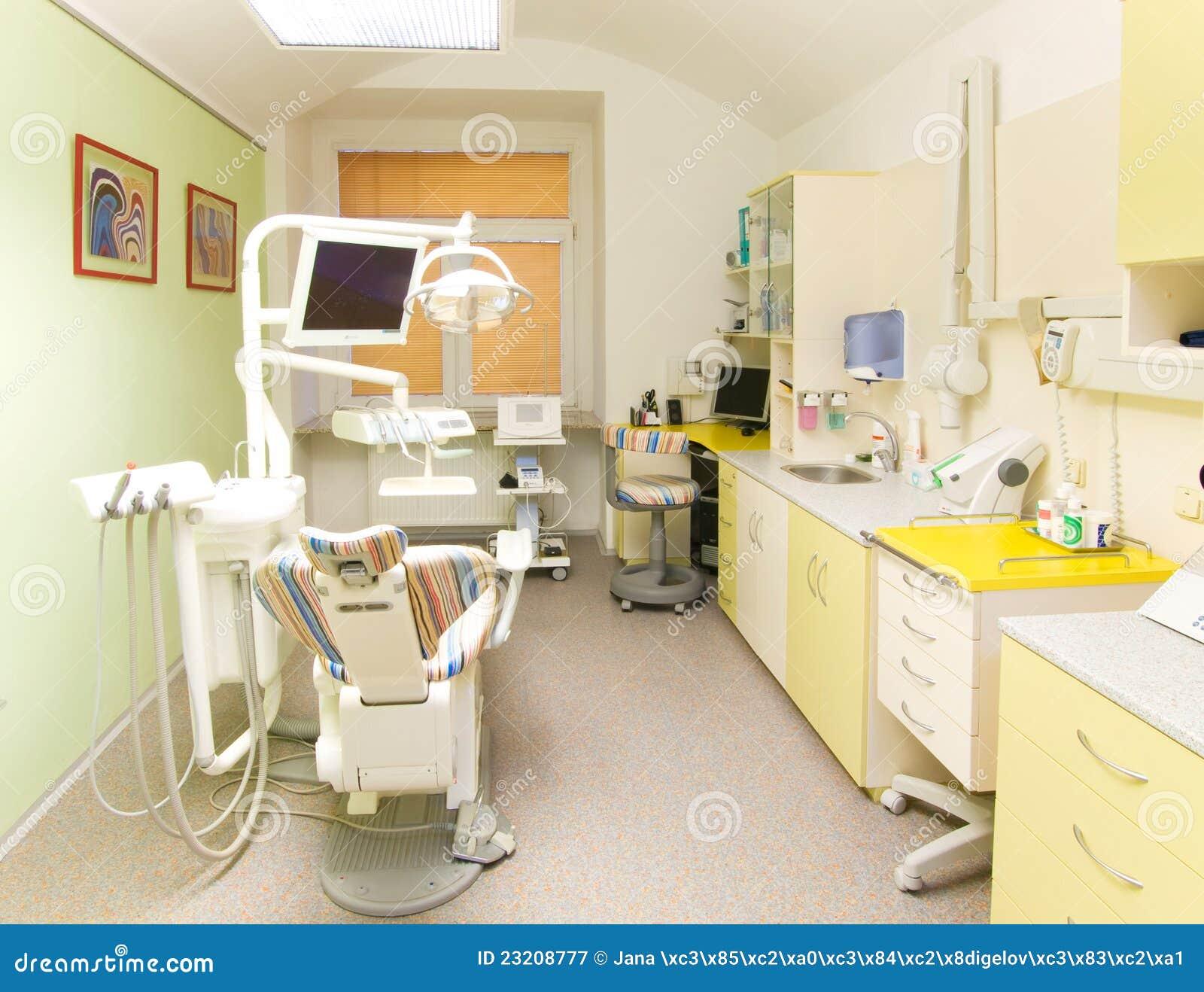 Modern dental office stock image. Image of examination ...