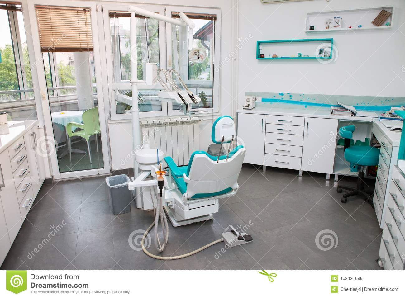 Modern Dental Office Interior Stock Photo Image Of Agriculture Fresh 102421698