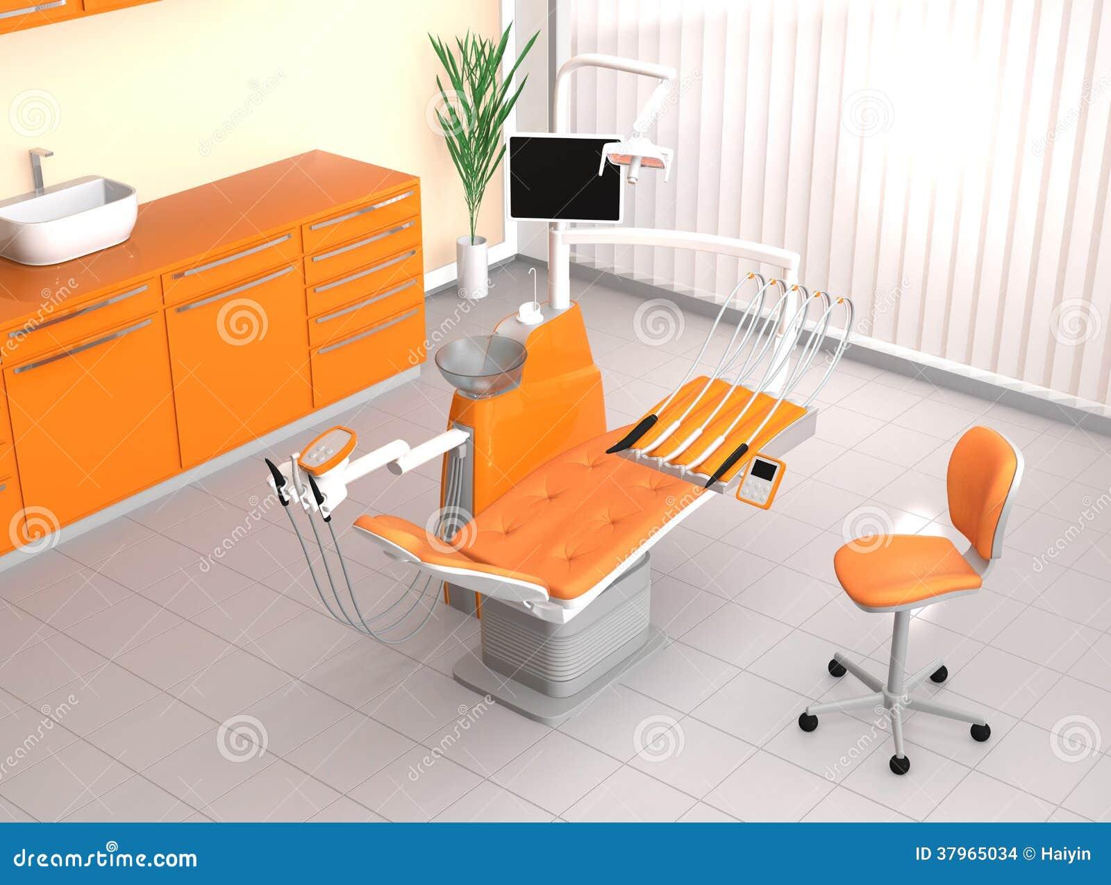 Modern dental office interior stock illustration image for Contemporary theme in interior design