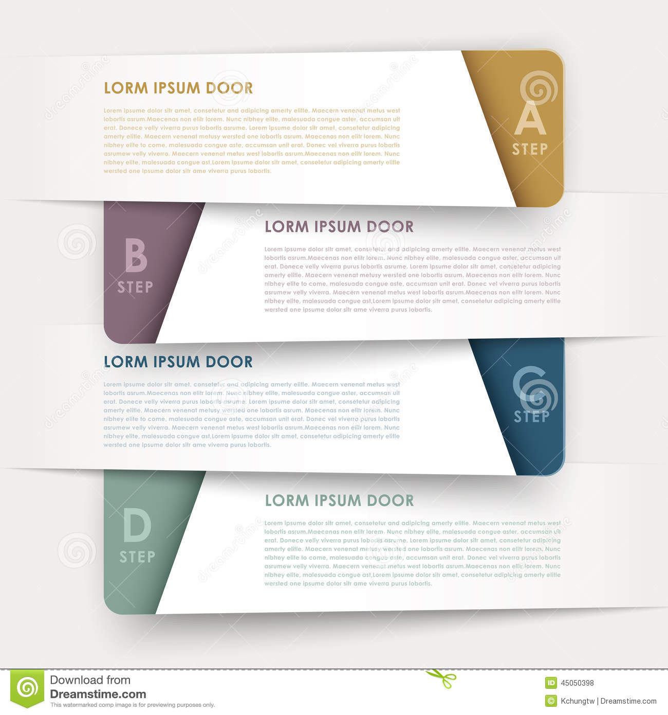 Modern design banners template infographic elements
