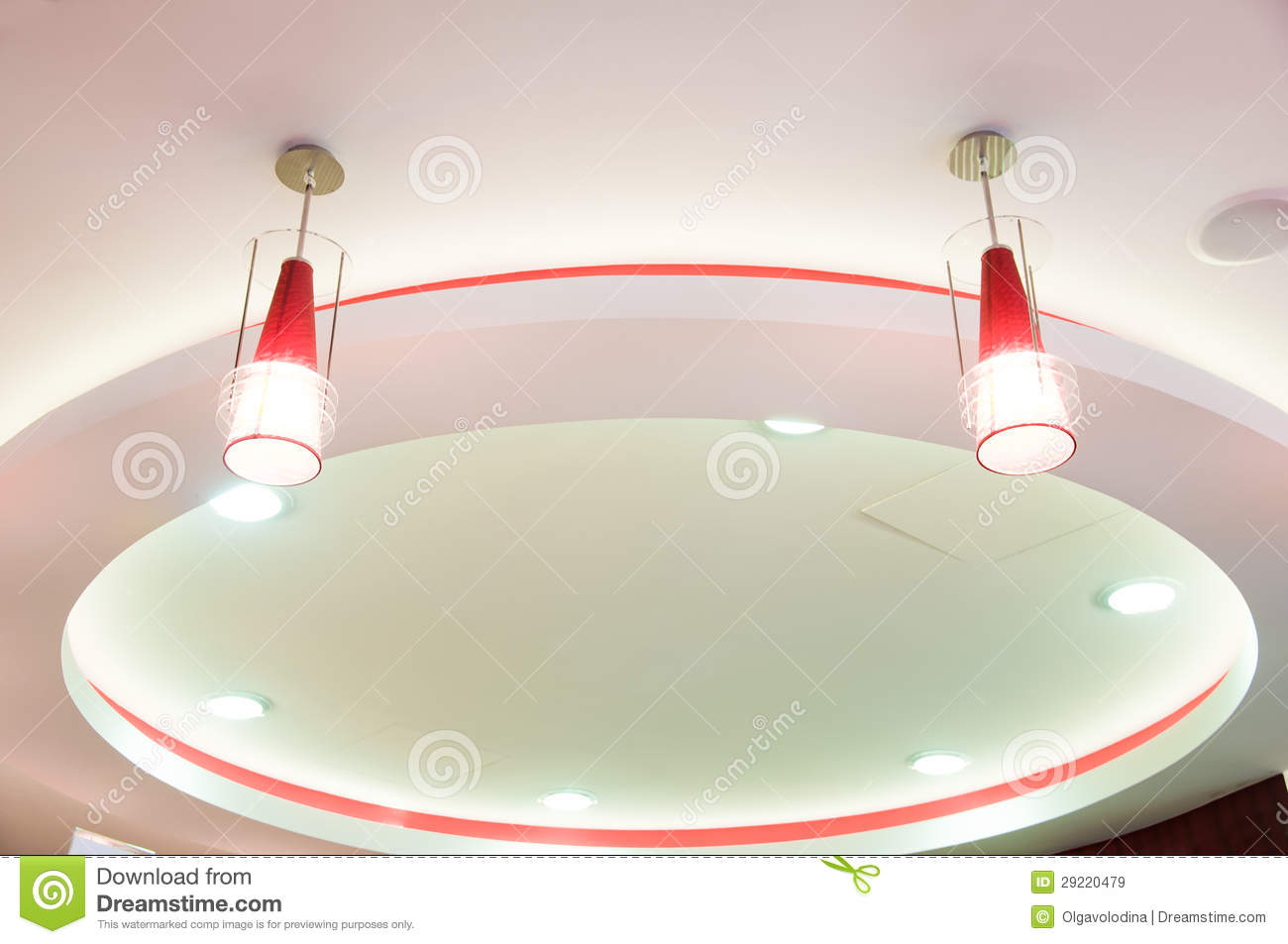 Modern Design Ceiling Royalty Free Stock Images - Image: 29220479
