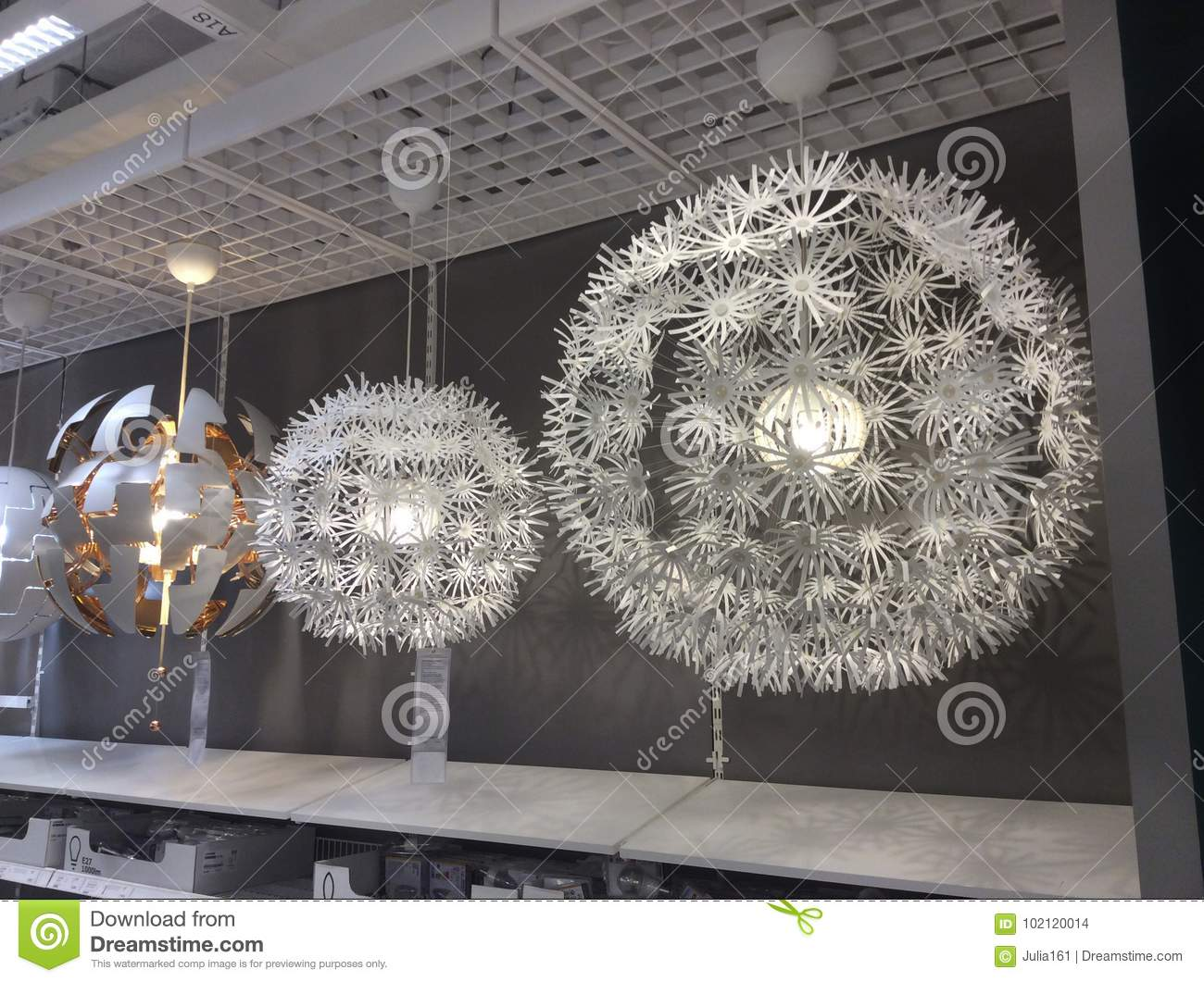 Chandeliers in ikea shop editorial stock image image of chandeliers download chandeliers in ikea shop editorial stock image image of chandeliers 102120014 aloadofball Choice Image