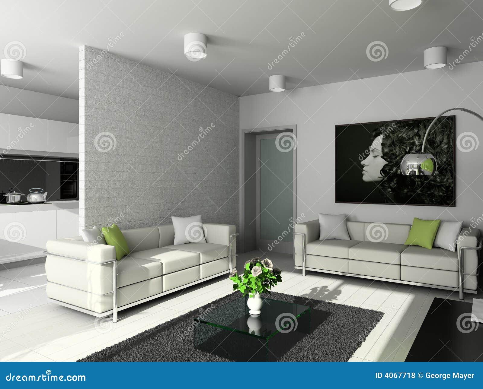 Modern Design Of Interior Royalty Free Stock Photos Image 4067718