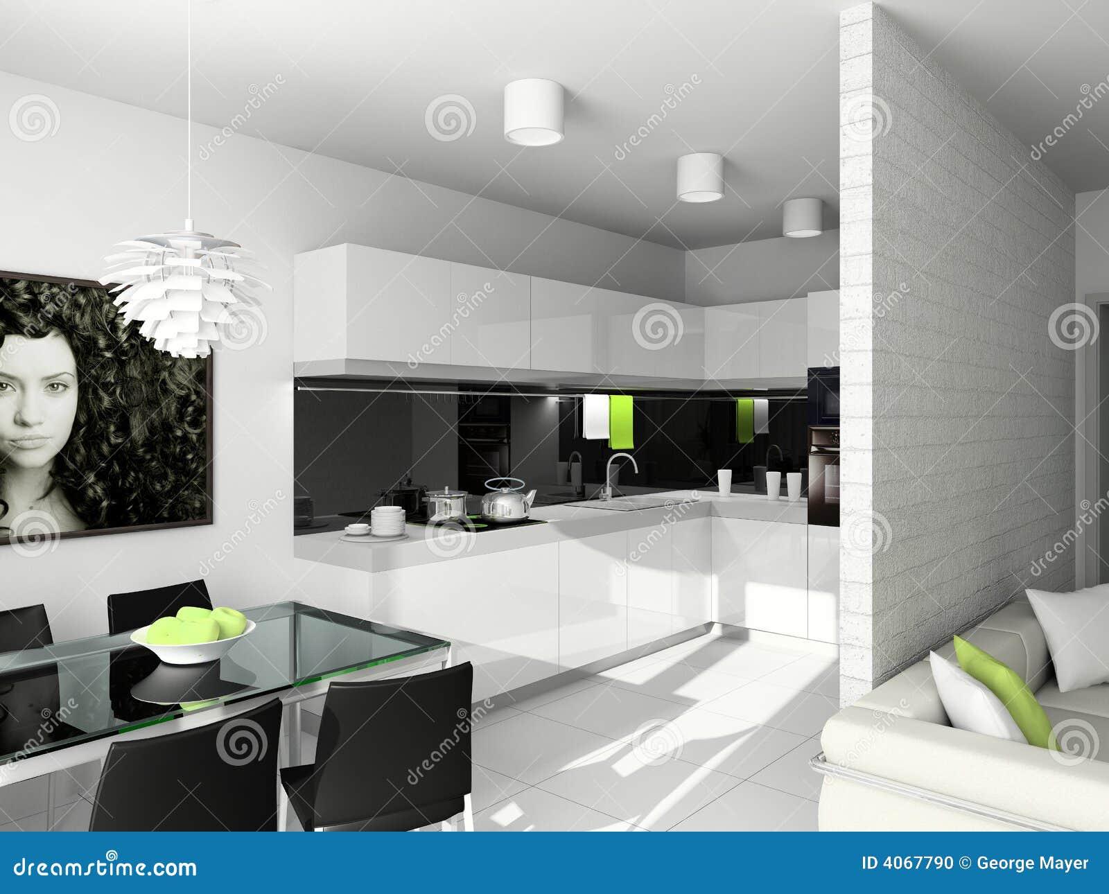 Modern design of interior