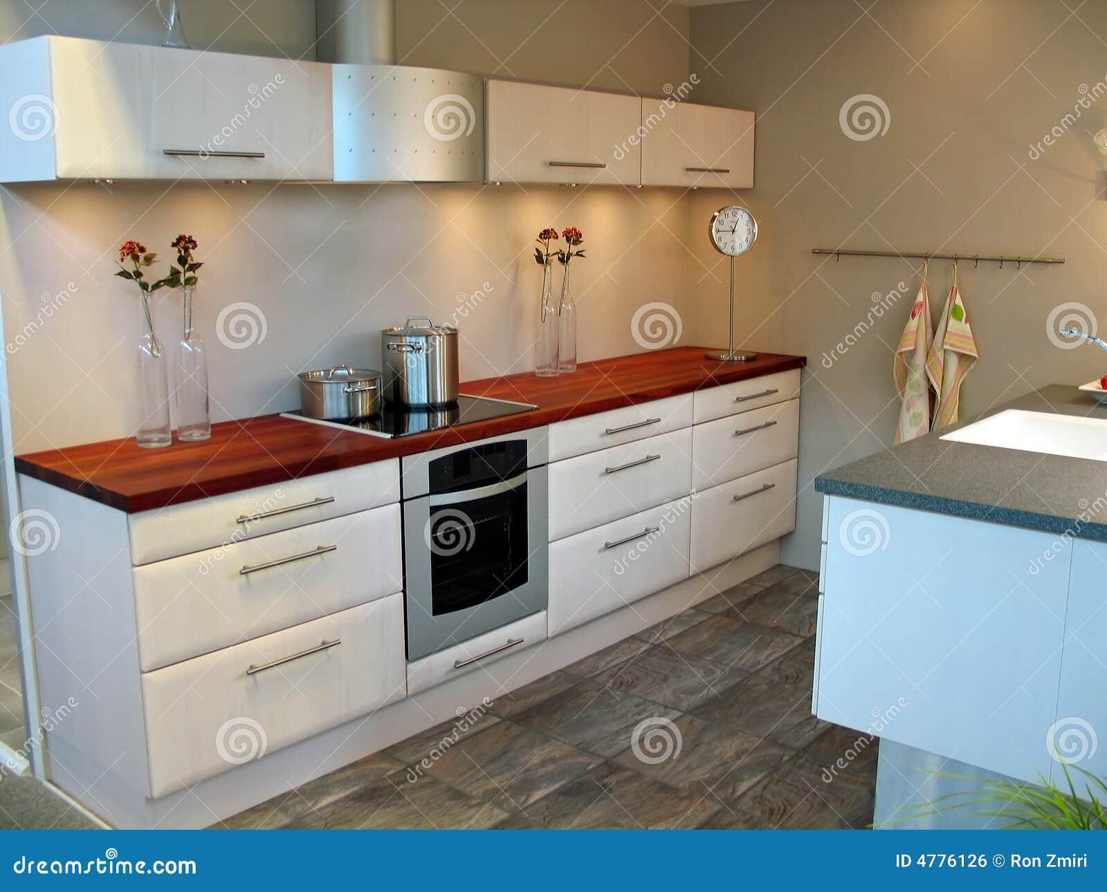 Modern Design Kitchen Royalty Free Stock Image Image 4776126