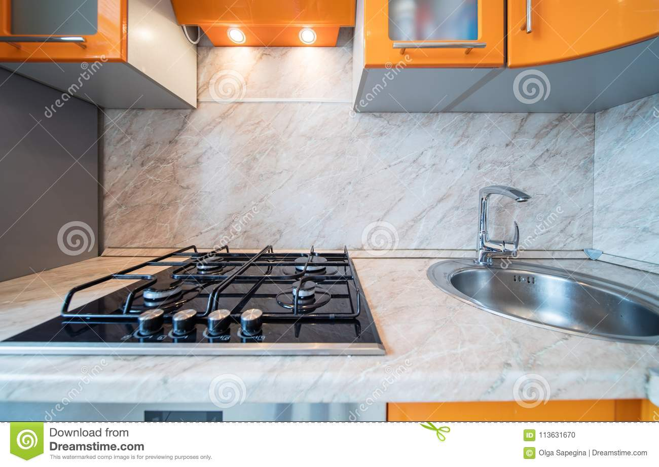 Stove And Exhaust Stock Photo Image Of Bright Appliance 113631670