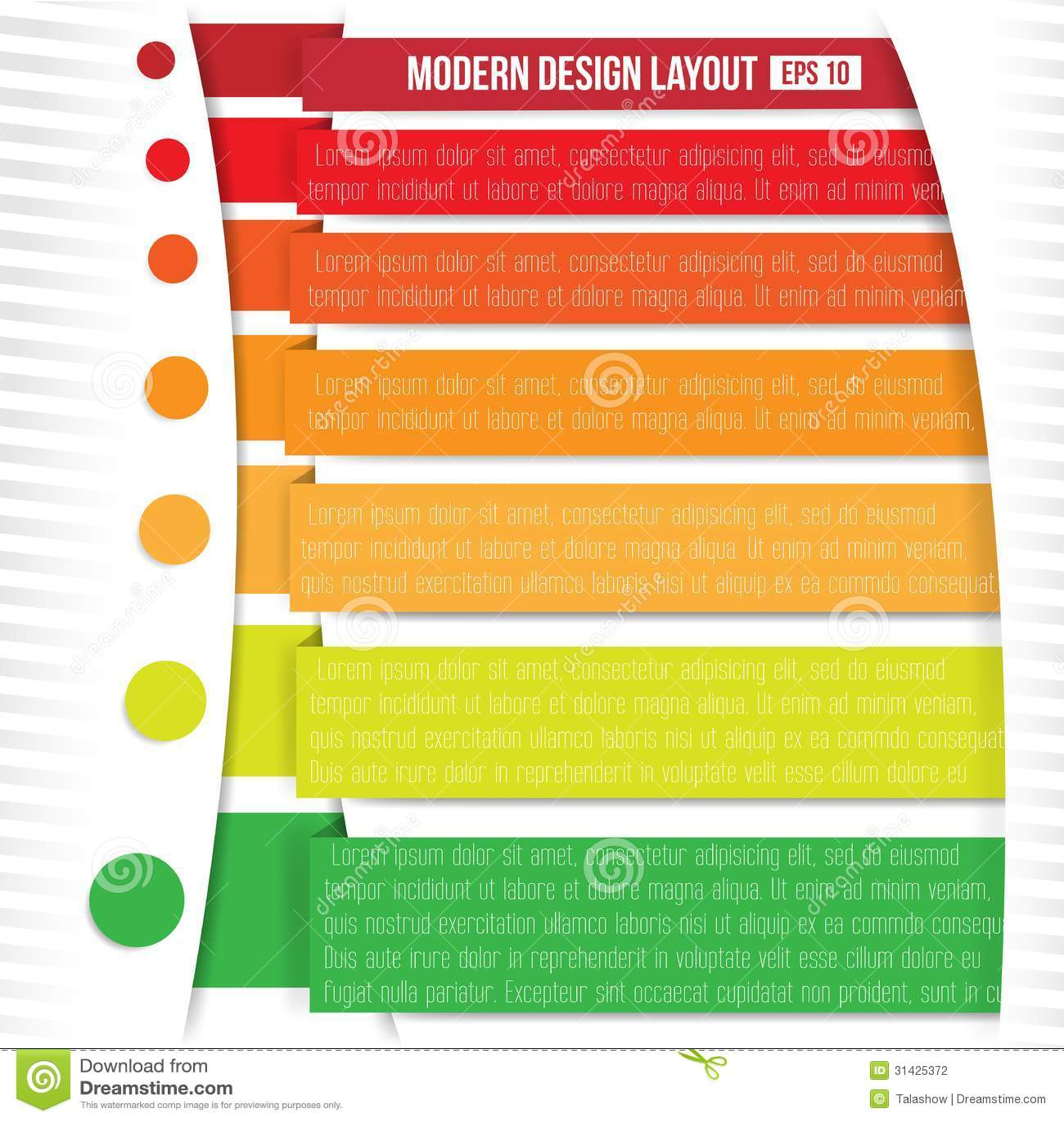 Modern Design Layout Stock Photography - Image: 31425372