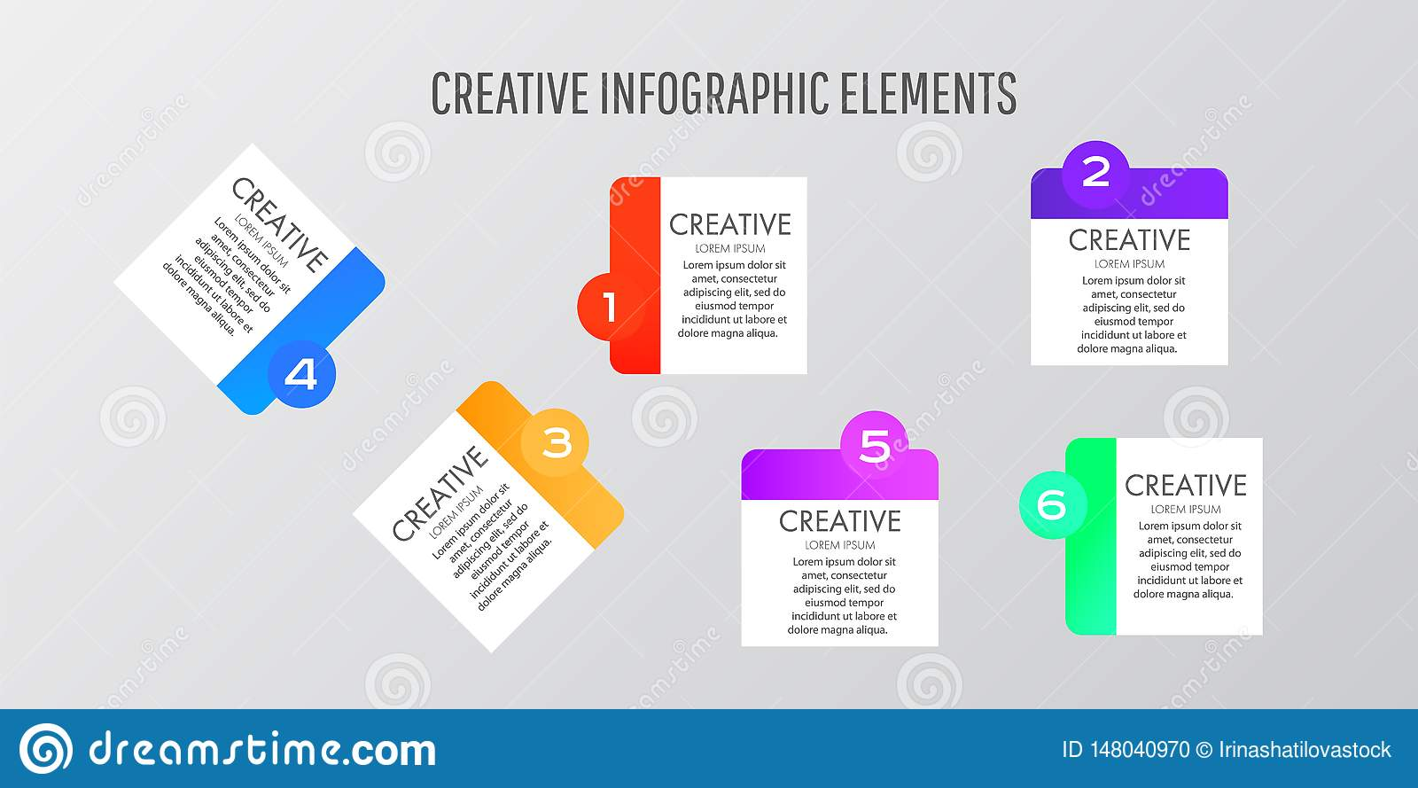 Modern Design template stickers can be used for infographics,banners, graphic or website layout vector