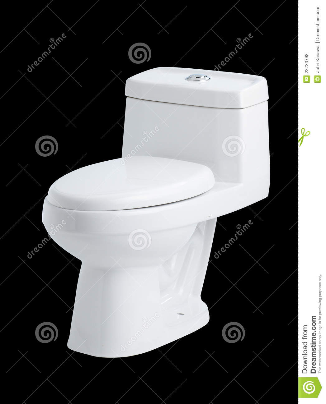 Modern Design Of The Toilet Bowl Stock Photo Image Of