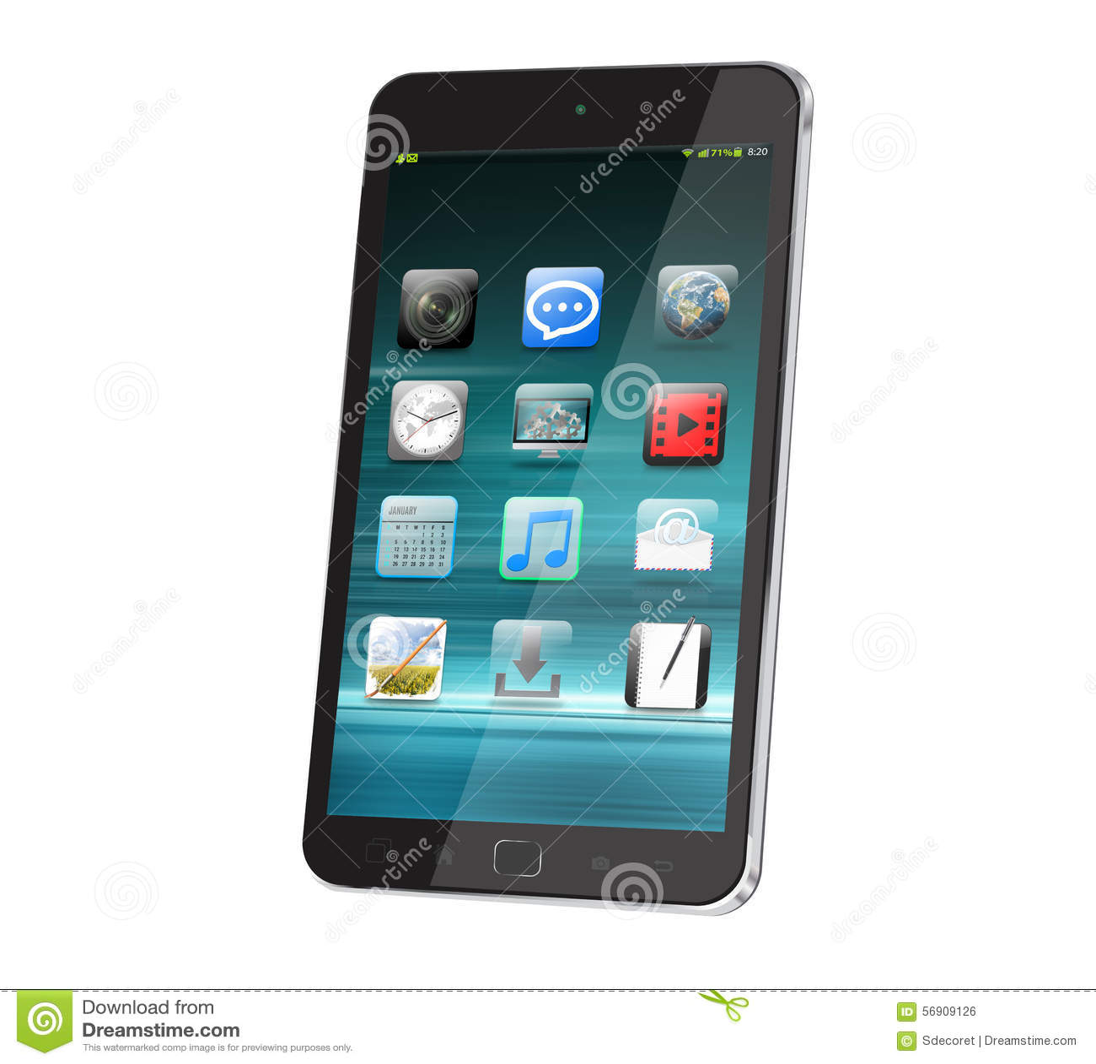 Modern digital smart phone