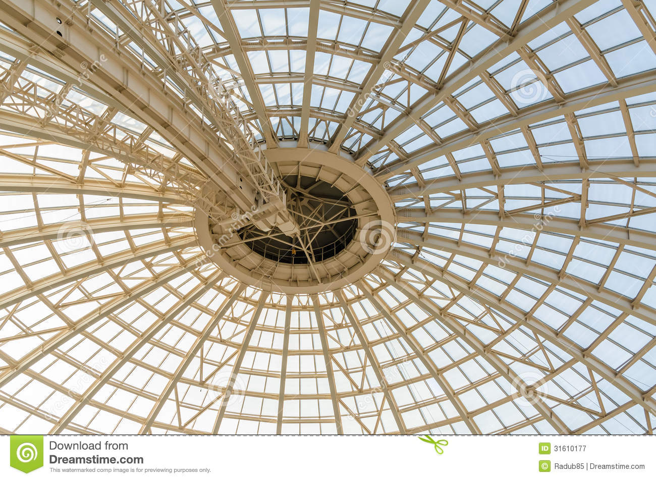 Modern Dome Structure Stock Image Image Of Architecture
