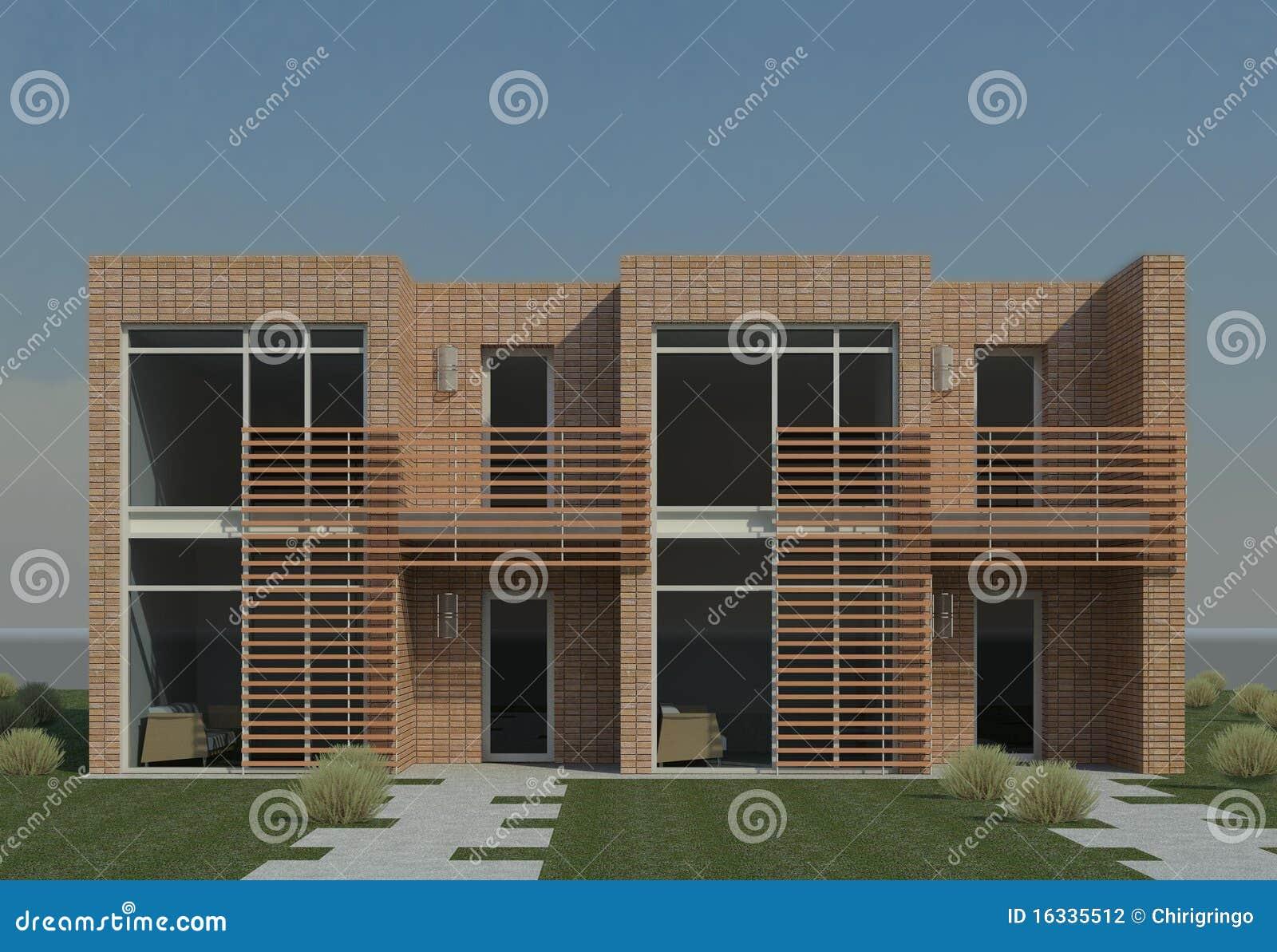 Modern Duplex Stock Illustration Image Of Duplex