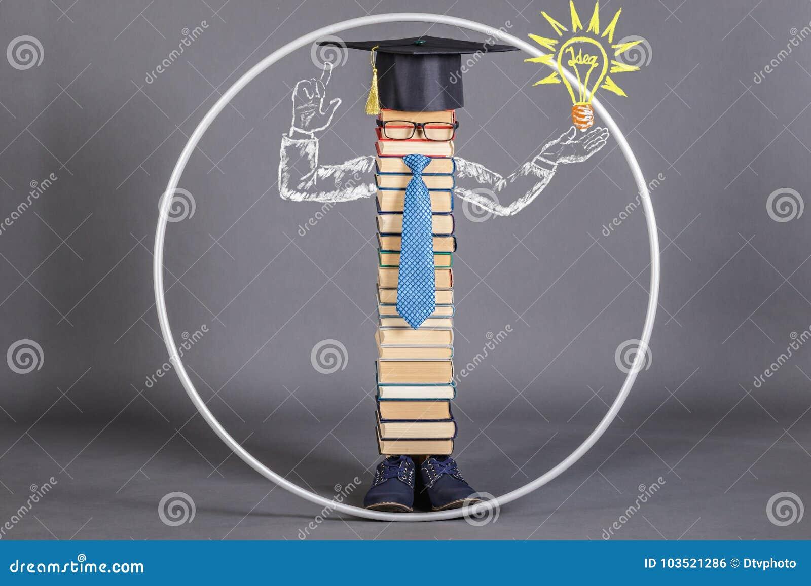 A modern educated intelligent Vitruvian man, beyond the scope of