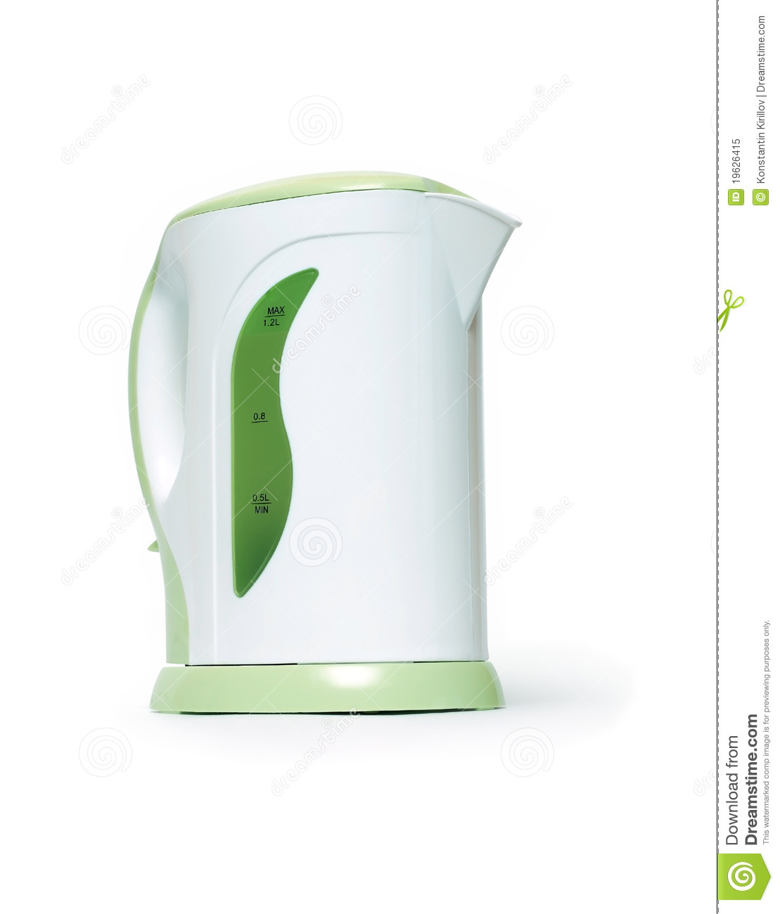 modern electric kettle royalty free stock photo  image  - modern electric kettle