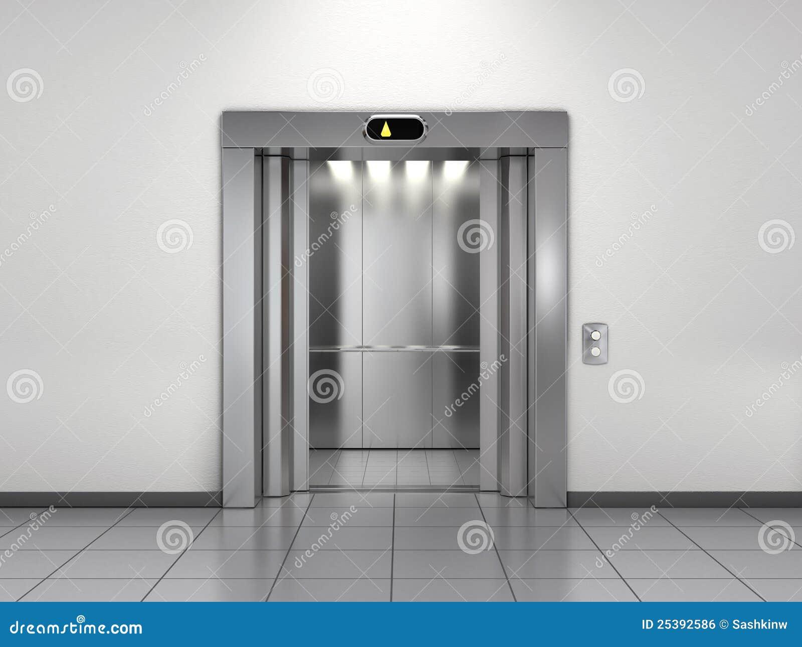 Modern elevator stock illustration illustration of hotel for Modern elevator design