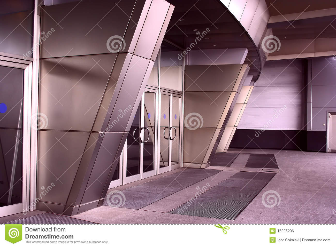 Modern Architecture Entrance