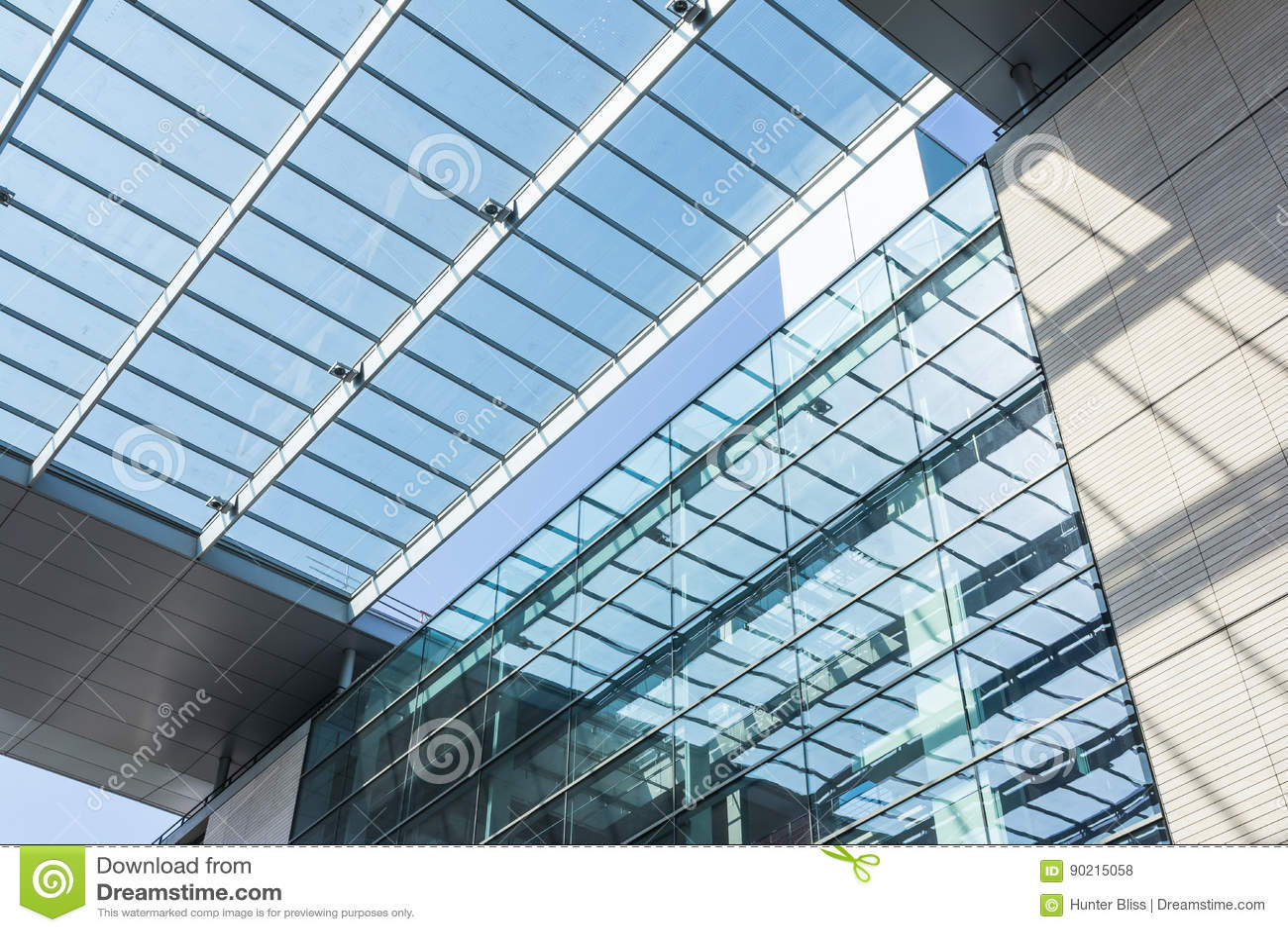 modern european geometric architecture design public