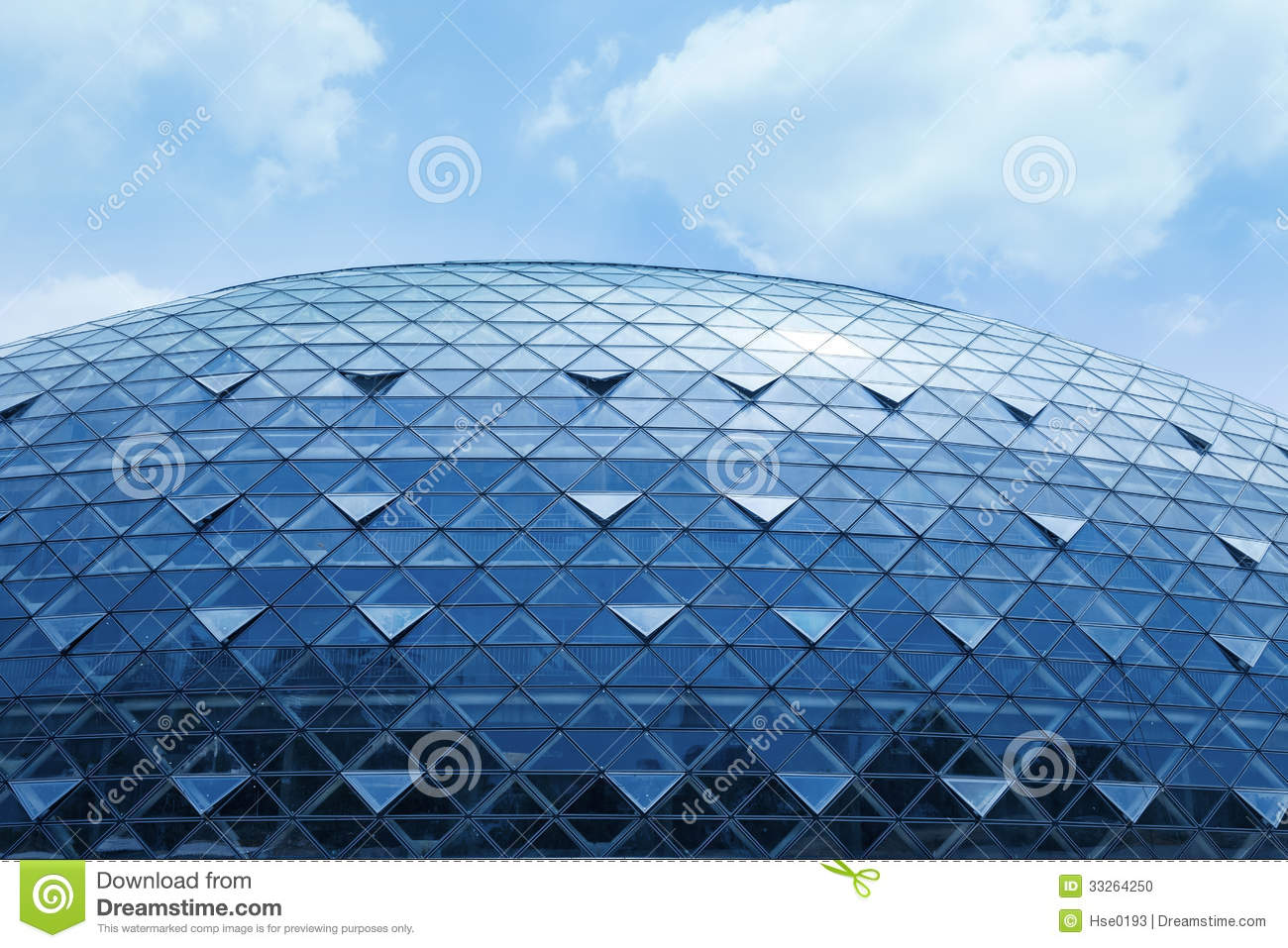 Modern Exterior Glass Walls Stock Photo Image 33264250